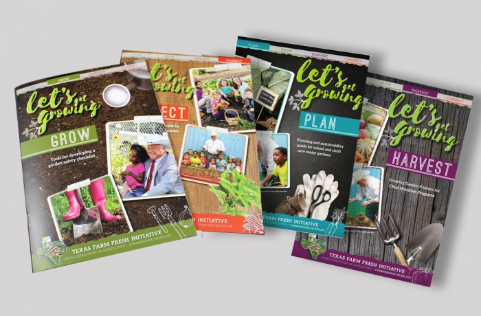 Let's Get Growing Brochure Series